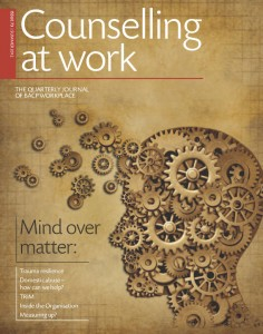 BACP Counselling at Work journal - Summer 2012